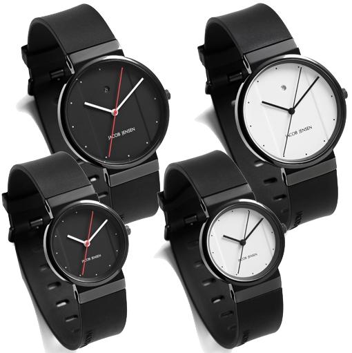 jacob jensen horlogeband 752 753 762 763 rubber 17mm. Black Bedroom Furniture Sets. Home Design Ideas