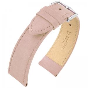 Hirsch Osiris Nubuck Horlogebandje Kalfsleer Rose - Limited Edition