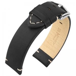 Hirsch Ranger Horlogebandje Kalfsleer Zwart