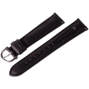 Maurice Lacroix Horlogeband Buffelkalf Zwart 15 en 19 mm