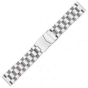 Schakel Horlogeband met Vouwsluiting Roestvrij Staal