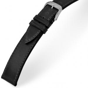 Rios Seattle Horlogebandje Shell Cordovan Zwart