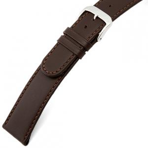 Rios Ecco Horlogebandje Rundsleer Bruin