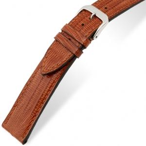Rios Avenue Horlogebandje Teju Hagedis Leer Cognac