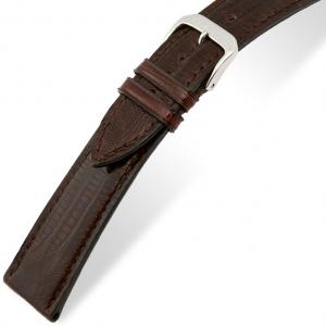 Rios Avenue Horlogebandje Teju Hagedis Leer Bruin