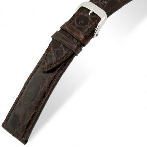 Rios Lord Horlogebandje Krokodillenleer Bruin