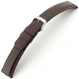 Rios Solid Horlogebandje Rundsleer Bruin