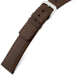 Rios Cashmere Horlogebandje Lamsleer Bruin