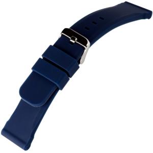 Blauwe Silicone Rubberen Horlogeband