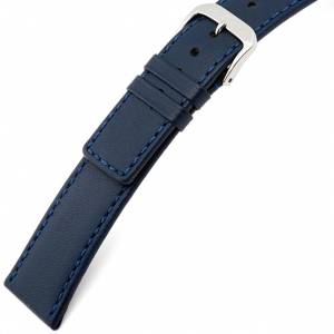 Rios Cashmere Horlogebandje Lamsleer Blauw