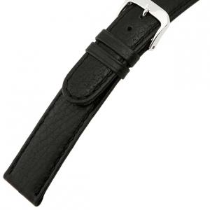 Rios Texas Horlogebandje Buffelleer Zwart