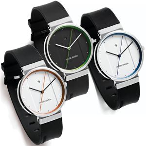 Jacob Jensen horlogeband 750, 755, 757 rubber 17mm