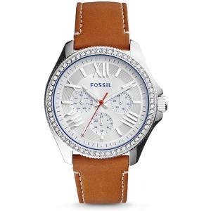 Fossil AM4623 Horlogeband Bruin Leer