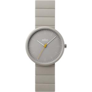 Braun BN0171GYGYG Horlogeband Grijs Keramiek