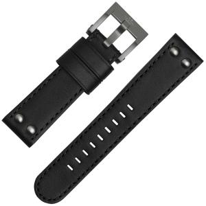TW Steel Horlogebandje CE1051, CE1052 Zwart 22mm