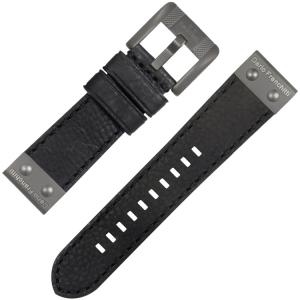 TW Steel Horlogebandje Dario Franchitti CE1200 Zwart 24mm