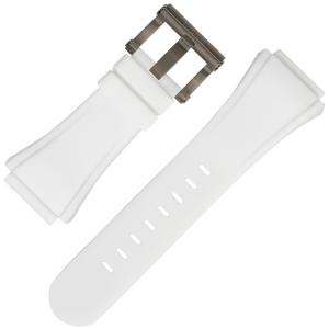 TW Steel Horlogebandje CE5002 Wit Rubber 30mm