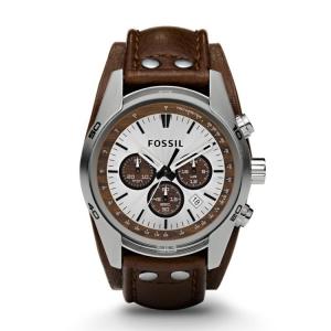 Fossil CH2565 Horlogeband Bruin Leer