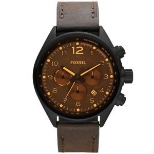 Fossil CH2782 Horlogeband Bruin Leer