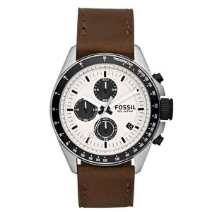 Fossil CH2882 Horlogeband Bruin Leer