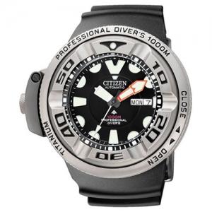Citizen Promaster AutoZilla NH6934-08FE Horlogeband Zwart 31mm