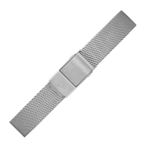 Daniel Wellington 12mm Petite Sterling Mesh Horlogebandje RVS