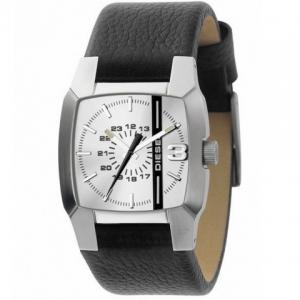 Diesel DZ1091 Horlogeband Zwart Leer