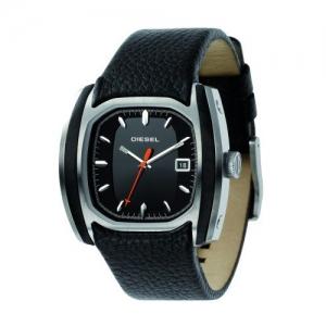 Diesel DZ1106 Horlogeband Zwart Leer