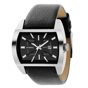 Diesel DZ1116 Horlogeband Zwart Leer