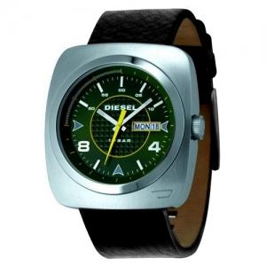 Diesel DZ1148 Horlogeband Zwart Leer