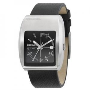 Diesel DZ1192 Horlogeband Zwart Leer