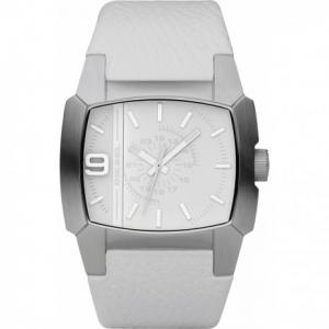 Diesel DZ1449 Horlogeband Wit Leer