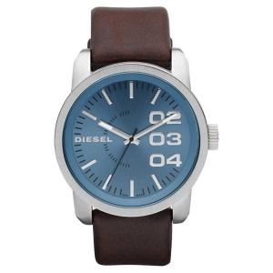 Diesel DZ1512 Horlogeband Bruin Leer