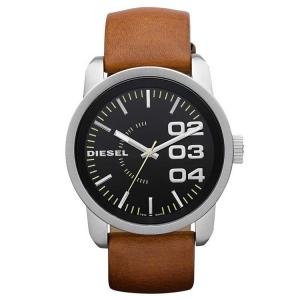 Diesel DZ1513 Horlogeband Bruin Leer
