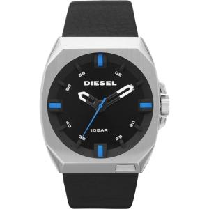 Diesel DZ1545 Horlogeband Zwart Leer
