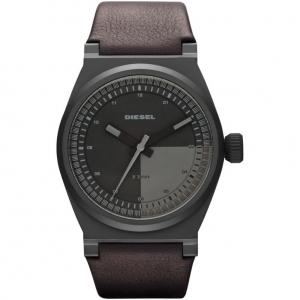 Diesel DZ1560 Horlogeband Donkerbruin Leer