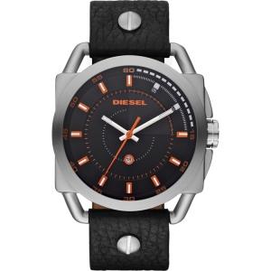 Diesel DZ1578 Horlogeband Zwart Leer