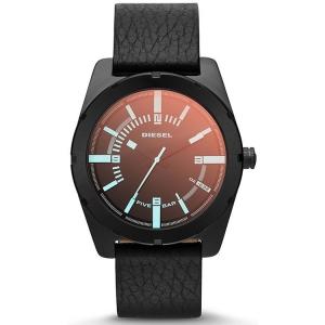 Diesel DZ1632 Horlogeband Zwart Leer