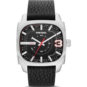 Diesel DZ1652 Horlogeband Zwart Leer
