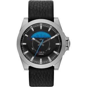 Diesel DZ1659 Horlogeband Zwart Leer
