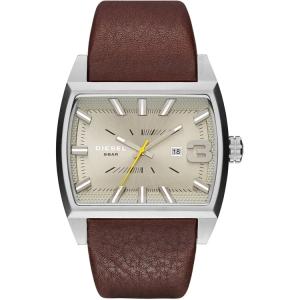 Diesel DZ1704 Horlogeband Bruin Leer