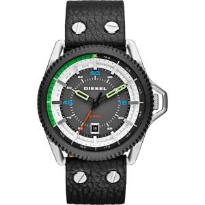 Diesel DZ1717 Horlogeband Zwart Leer