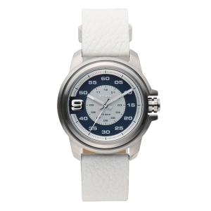 Diesel DZ1741 Horlogeband Wit Leer