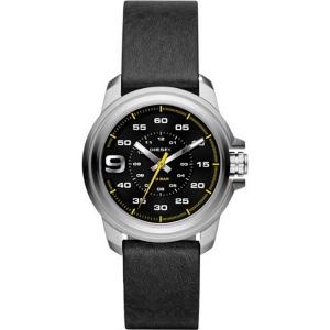 Diesel DZ1745 Horlogeband Zwart Leer