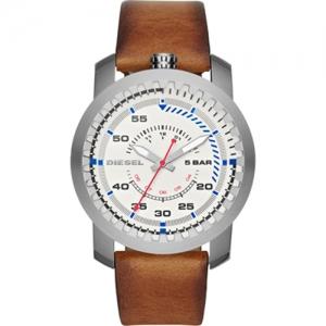 Diesel DZ1749 Horlogeband Bruin Leer