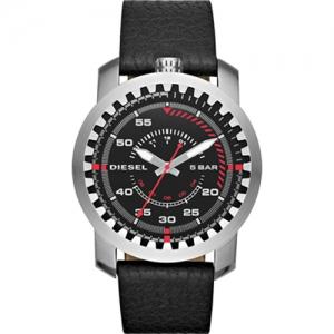 Diesel DZ1750 Horlogeband Zwart Leer