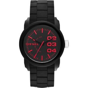 Diesel DZ1777 Horlogeband Zwart Rubber