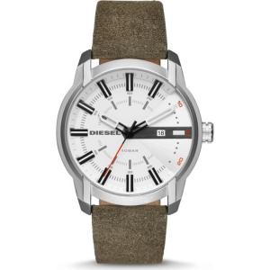 Diesel DZ1781 Horlogeband Groen Leer