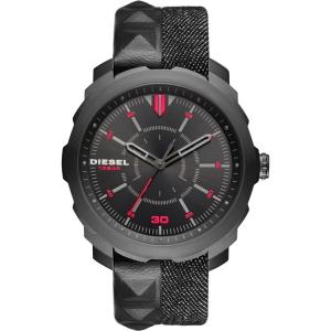 Diesel DZ1785 Horlogeband Zwart Denim Leer