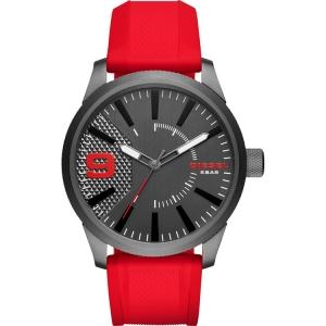 Diesel DZ1806 Horlogeband Rood Rubber